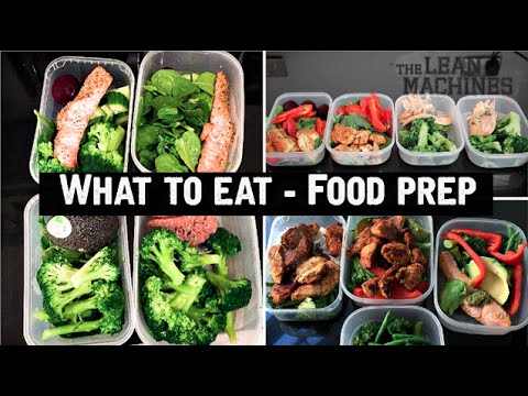 Video What To Eat - Healthy Food Prep
