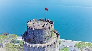 TRICK SHOTS AT 500 YEAR OLD CASTLE!