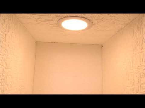 LED Panel Warmweiß und Kaltweiß