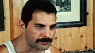 Freddie Mercury habla de Michael Jackson (subtitulado)