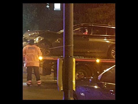 Unmarked cop car writes off mini near Bri Bradford