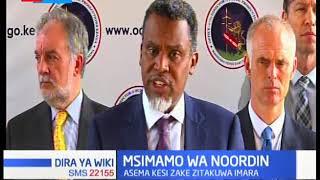 DPP Noordin Haji atoa msimamo wake katika vita dhidi ya ufisadi