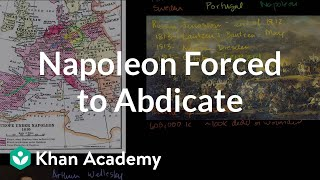 Napoleon Forced to Abdicate