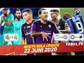 Hasil Pertandingan Liga 21 Juni ⚽ Ibra & T. Silva Berpeluang ke Fiorentina👏 Nasib Joe Hart Tak Jelas