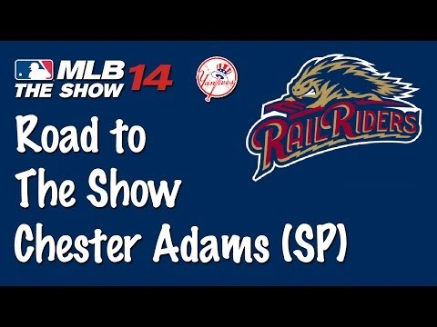 MLB 14: RTTS with Chester Adams (SP) EP. 3 - First AAA Start