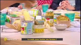 Extrait «La Quotidienne» à propos du maïs