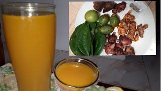 Membuat Minuman Sehat Wanita Di Rumah Jamu Kunyit Asem Manja...