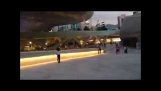 Futuristic Architecture In Seoul