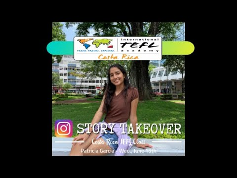 Instagram Takeover-Patricia (June 2019)