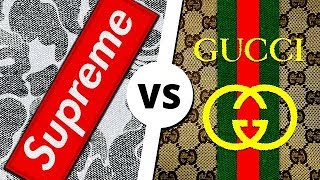 SUPREME vs GUCCI