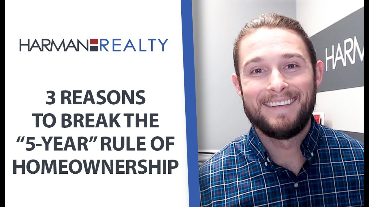 "When Should You Break the ""Five-Year Rule"" of Homeownership?"