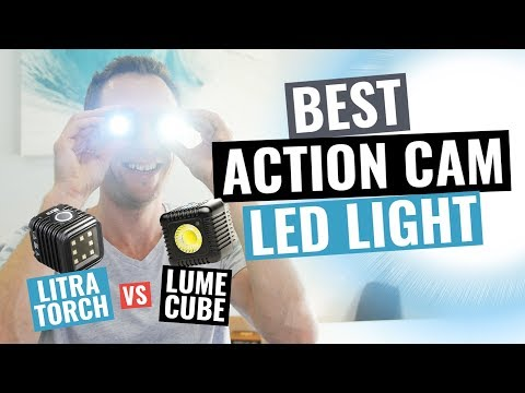 Best Portable Action Camera Video Light? Litra Torch vs Lume Cube Review!