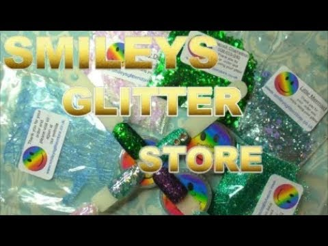 SMILEYS GLITTER REVIEW ~ WOW!   ABSOLUTE NAILS