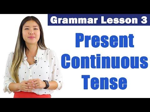 Learn Present Continuous Tense | English Grammar Course