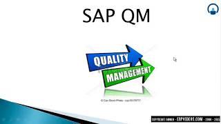 SAP QM Tutorials - Quality management