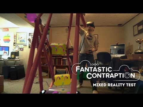 Fantastic Contraption VR Mixed Reality Test #5