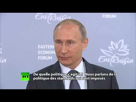 Vladimir Poutine : «la crise migratoire en Europe était inévitable»