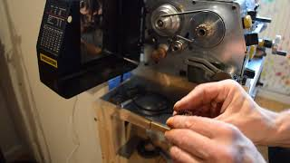 Making threads with Proxxon PD 250/E