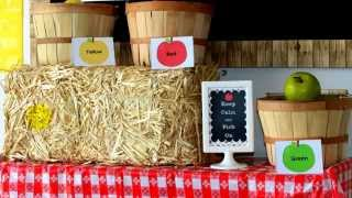 Dramatic Play Apple Orchard