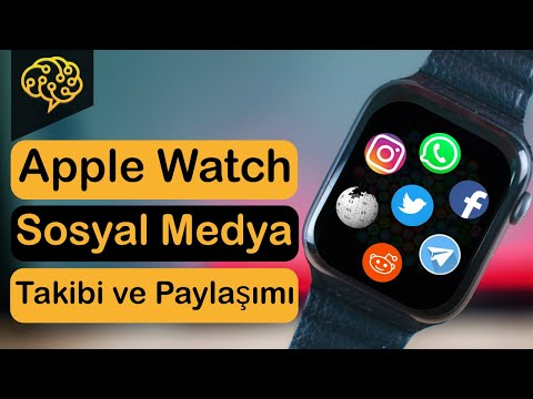 Apple Watch ile Sosyal Medya kullanma 🤯| Whatsapp, Instagram, Twitter, Facebook, …