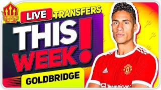 VARANE Transfer IMMINENT! Man Utd Transfer News