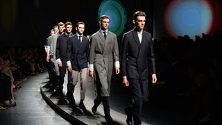 Ermenegildo Zegna SS 2014 Fashion Show by Stefano Pilati
