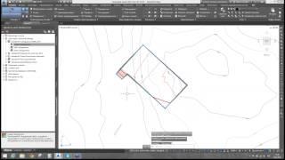 Autodesk AutoCAD Civil3D  Решение задач генерального плана