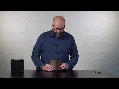 Bella Fino iPhone X Wallet Case Video