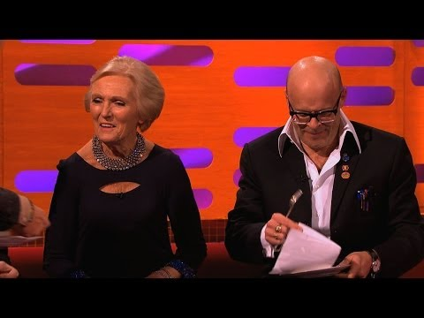 Cliff Richard a Mary Berry u Grahama Nortona