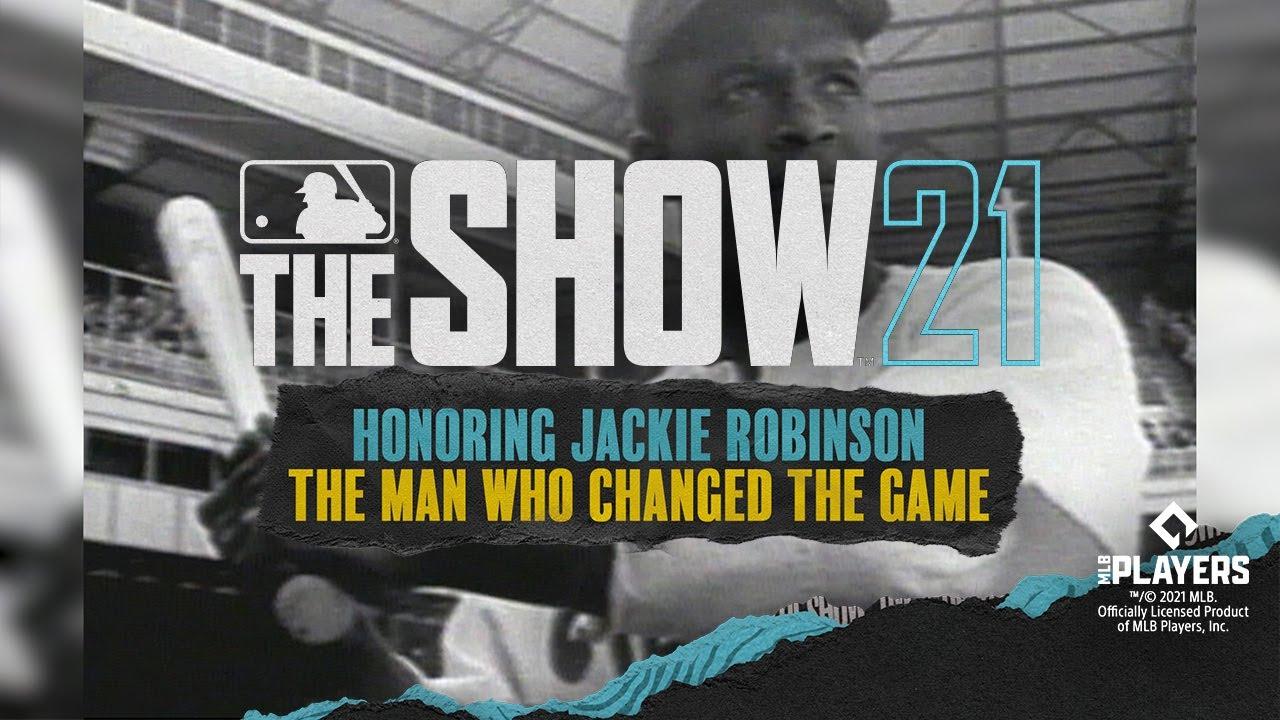 Jackie Robinson sulla copertina delle Collector's Edition di MLB The Show 21