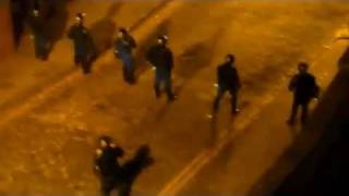 Manchester Riot Police Serve Up Some Cold, Hard Justice [HD]
