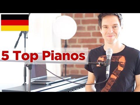 5 Top Pianos, die vielleicht auch mal was für dich wären