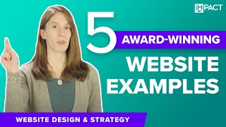 5 Award-Winning Website Designs & What They Did Right