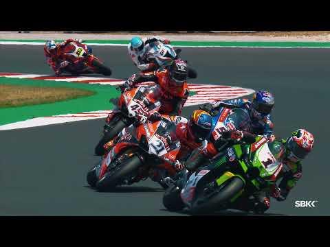 スーパーバイク 2021 第3戦イタリア ミサノ・ワールド・サーキット・マルコ・シモンチェリ 決勝レースのハイライト動画