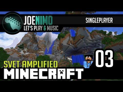 Minecraft | Svět Amplified #03 - Stěhování, výprava do vesnice!