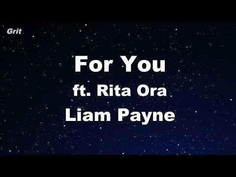 For You Liam Payne Rita Ora Karaoke 【with Guide Melody】 Instrumental
