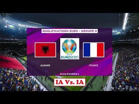Albanie - France [PES 2020] | UEFA EURO 2020 Qualifications (Journée 10/10 - Groupe H) | IA VS. IA