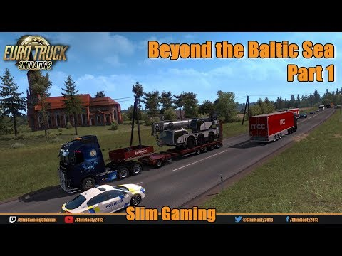 Euro Truck Simulator 2 - First Time In Lithuania (Beyond The
