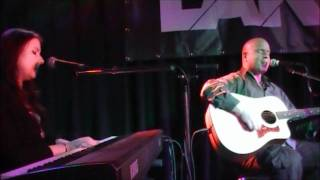 Mick Moss (Antimatter) feat. Lisa Cuthbert - Over your shoulder - LIVE in Helmond