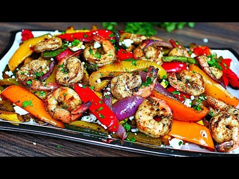 Balsamic Grilled Shrimp and Vegetables – Healthy Shrimp and Veggies Recipe