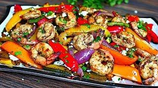 Balsamic Grilled Shrimp And Vegetables - Healthy Shrimp And Veggies Recipe