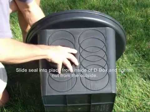 Polylok 8-Hole Drainage Box with Grate Cover Video