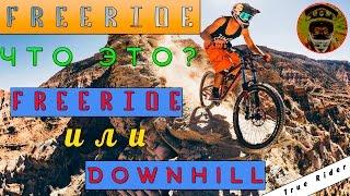 True Rider! ЧТО ТАКОЕ ФРИРАЙД? ЧЕМ ФРИРАЙД ОТЛИЧАЕТСЯ ОТ ДАУНХИЛЛА?