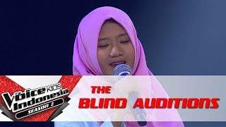 "Nidia ""Cinta Terbaik"" | The Blind Auditions | The Voice Kids Indonesia Season 2 GTV 2017"