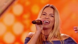 The X Factor UK 2015 S12E10 6 Chair Challenge - Girls - Louisa Johnson Full Clip