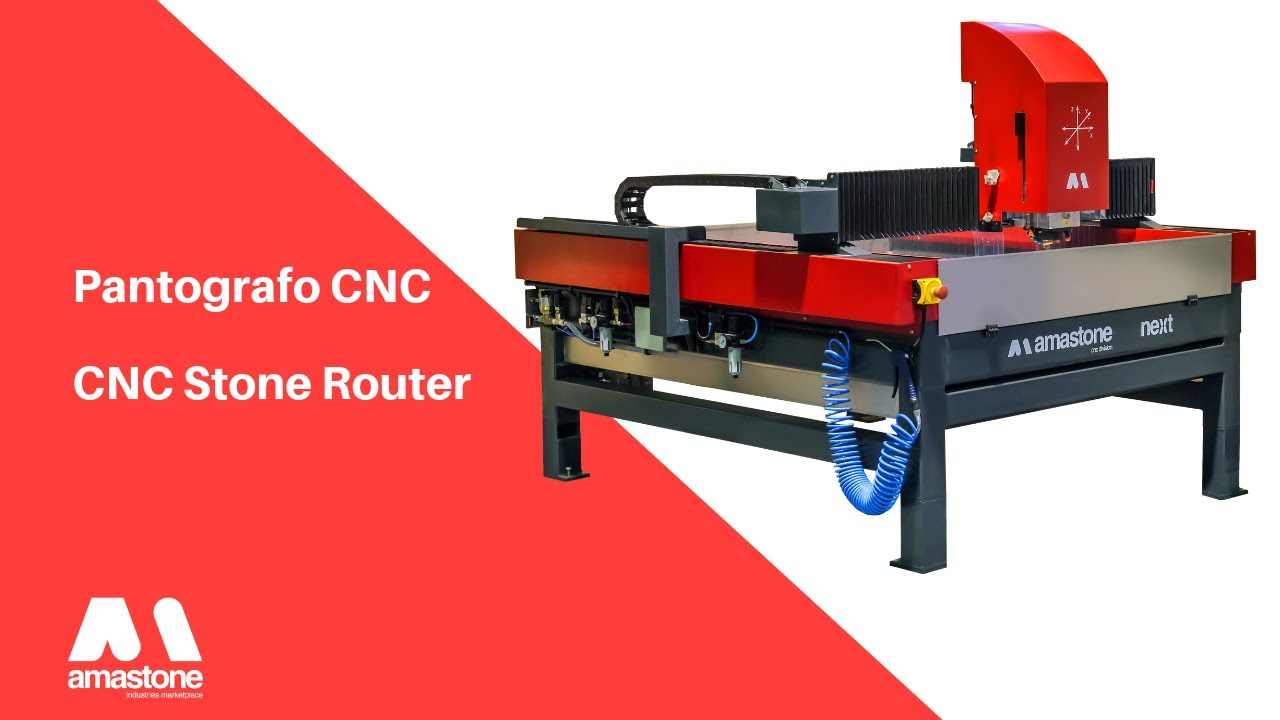 AMastone Next - 3 Axes CNC Router for the stoneworking