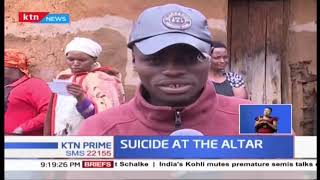 18-year-old found by congregants after committing suicide at an altar of church in Nakuru