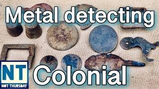 Finding lost colonial homesites metal detecting Not Thursday #21 VLOG NH cellar holes Garrett ATGOLD