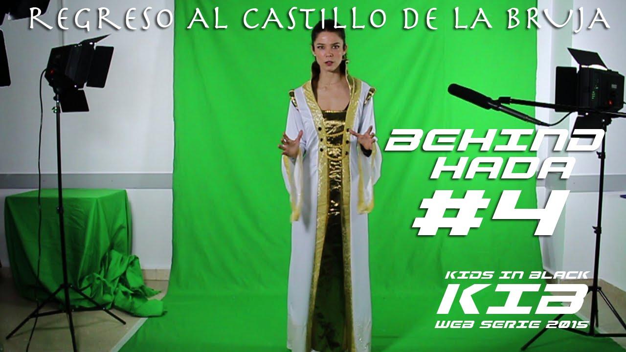 Regreso al Castillo de la Bruja - Kids In Black 2015 - Detrás de las cámaras - Reina Hada #4