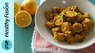 Lemon Chicken Recipe By Healthy Food Fusion